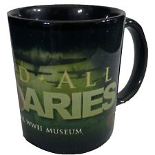 WWII National Museum Beyond All Boundaries Coffee Mug 10 Ounce Combat Helmet