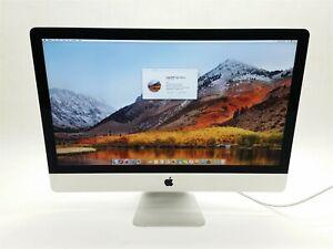 """Apple iMac 27"""" 2013 Intel i5 3.2Ghz 8GB 1TB GT 755M High Sierra A1419 ME088LL/A"""