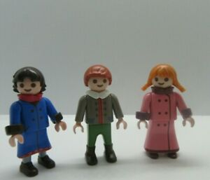 PLAYMOBIL VICTORIAN STYLE CHILDREN TWO GIRLS AND BOY