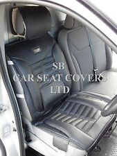 TO FIT A FORD TRANSIT CUSTOM VAN 2016, SEAT COVERS, FH BLACK ROSSINI SPORTS