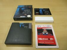 NES  Nintendo - SCHWARZENEGGER TOTAL RECALL - OVP - TOP - PAL