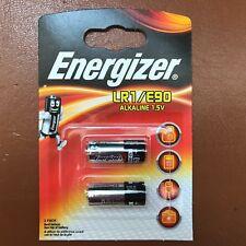 2 x Energizer LR1 MN9100 1.5V Alkaline Battery E90 AM5 LONGEST EXPIRY DATE