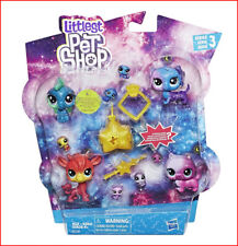 Littlest Pet Shop COSMIC Galaxy POUNCE Pack - S3 - 11 Pets ❤️NEW❤️