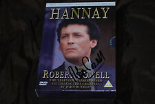 Robert Powell - Signed Hannay - The Complete Series DVD - Rare & OOP R2 Amicus