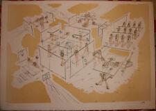 Roberto MATTA - Lithographie signée numérotée lithograph litografia Chili *