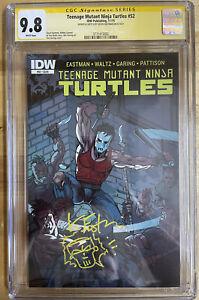 Teenage Mutant Ninja Turtles 52 CGC 9.8 Eastman Sketch