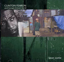 Clinton Fearon and Boogie Brown Band - Soon Come CD - SEALED Roots Reggae Album