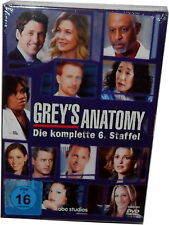 Grey´s (Greys) Anatomy - Die komplette Staffel/Season 6 [DVD] Deutsch(e) Version