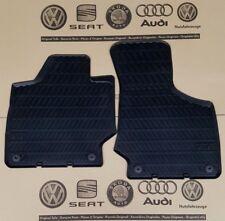 Audi TT 2 8J original Fußmatten Gummimatten vorne Gummifußmatten rubber mats TTS
