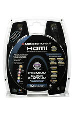 Câble HDMI Monster UltraHD Black Platinum avec indicateur LED de performance 10m