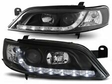 OPEL VECTRA B 1995 1996 1997 1998 LPOP16 HEADLIGHTS DAYLIGHT LED BLACK