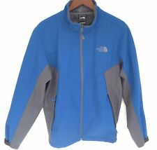North Face Apex Chromium Thermal Jacket Men's Size L Blue Gray Fleece Lined