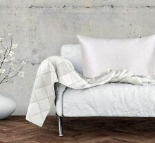 Simply Silk 100% Pure Silk Facial Beauty Pillowcase Handmade , Standard White