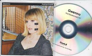 GWENNO PATRIARCHAETH RARE PROMO CD