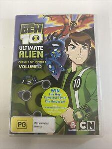 ben 10 ultimate alien Pursuit Of Infinity, Volume 2, dvd R4