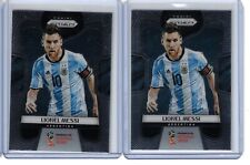 2018 Panini Prizm World Cup Soccer Lionel Messi 2 CARD LOT Argentina base #1