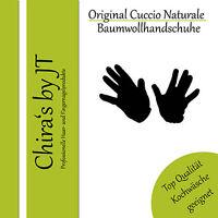 Cuccio Baumwollhandschuhe schwarz Cotton Gloves black Allergiker geeignet Gr. 11