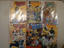 Secret Weapon - Valiant Comics - 1993 - Issues 1-6