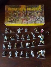 VINTAGE GRENADIER DUNGEON & DRAGONS LEAD PEWTER FIGURES LOT 1980S