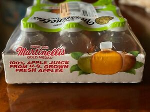 TIK TOK Martinelli's Gold Medal 100% Apple Juice 10 Fl. oz 1 Bottle FAST-SHIP