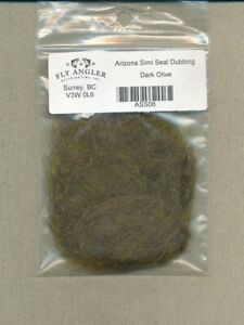 Arizona Simi Seal Dubbing - dark olive ASS06