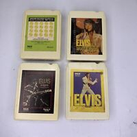 Elvis Presley 8 track tapes lot of 4 - Readers Stereo Digest 8 Untested