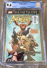 Marvel Comics CGCGraded MIGHTY AVENGERS#1 5/07 Frank Cho Cover Design 9.6 Grade