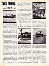 1967 AMC RAMBLER $1839  ~  GREAT ORIGINAL ARTICLE / AD