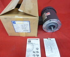 EMERSON 8773 *NEW IN BOX* ELECTRIC MOTOR 1/2HP 1725/1425 RPM 3Ø (4E6)