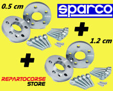 DISTANZIALI SPARCO 5 + 12 mm FIAT 500 e FIAT 500 ABARTH