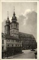 BAYREUTH Bayern ~1930 Strassen Partie a.d. Stadtkirche Kirche alte Ansichtskarte