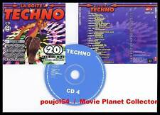 """LA BOITE A TECHNO """"CD 4"""" (CD) 20 titres 2006"""