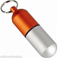 MUNKEES WATERPROOF CAPSULE LARGE - Key Ring, Anodized, Aluminum, Geocaching