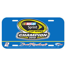BRAD KESELOWSKI #2 NASCAR SPRINT CUP SERIES CHAMPION LICENSE PLATE 2012