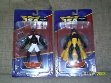 DC Direct JSA-Mr. Terrific, Hourman, Atom 2 pack, Hawkgirl, and Dr. Midnight