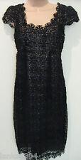 NEXT signature  Black Lace Lined Tight Evening Dress (NEW)  UK size 8-£75.00