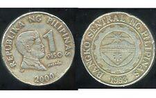 PHILIPPINES 1 piso 2000