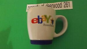 Ebay Power Seller  Coffee Mug Cup Blue Rubber Base Coffee Tea  free ship