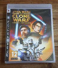 STAR WARS THE CLONE WARS Les Héros République Jeu PS3 Playstation 3 Neuf Blister