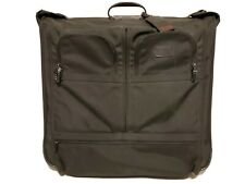 TUMI Deluxe Two Wheeled Garment Bag Alpha Black 2233D3