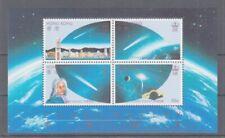 Aerospace - Space Hong Kong Block 6 Halley Comet (MNH)