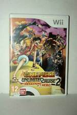 ONE PIECE UNLIMITED CRUISE 2 AWAKENING OF A HERO USATO NINTENDO Wii UK ML3 45330