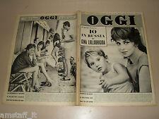 OGGI=1961/31=GIFFONI VALLE PIANA=IVO SOLI=CAROSELLO=ITALIANI FIUME=GLORIA PAUL=