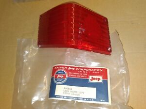 Kaiser Jeep Wagoneer NOS New Old Stock Driver Side Tail Lamp Lens 931644