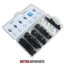 6 Size100pc Clip Trim Car Push Pin Rivet  Bumper Door Panel Retainer Assortment