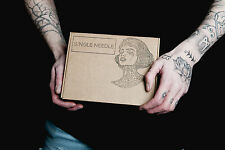Single Needle Stick And Poke DIY - DOUBLE PRACTICE KIT - Learn To Tattoo