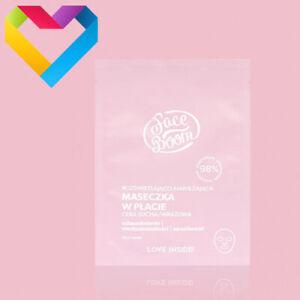 Face Boom Brightening & Moisturising SHEET FACE MASK Dehydrated Sensitive Skin