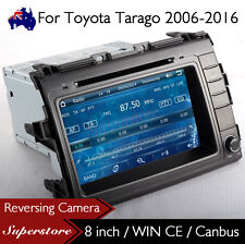 "8"" Car DVD Nav GPS Head Unit Stereo Radio For Toyota Tarago 2006-2016"