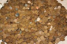 1000  WHEAT PENNIES 1909-1958  COINS UNSEARCHED,GUARANTEED ALL DECADES P,D,S