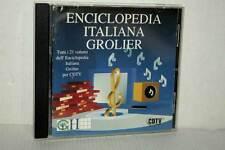 ENCICLOPEDIA ITALIANA GROLIER USATO BUONO AMIGA CDTV EDIZIONE ITALIANA MB4 47237